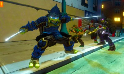 teenage mutant ninja turtle, mutants in manhattan, tmnt, samurai, rock n roll,dlc , costume, the action pixel, pre-order,tmnt,