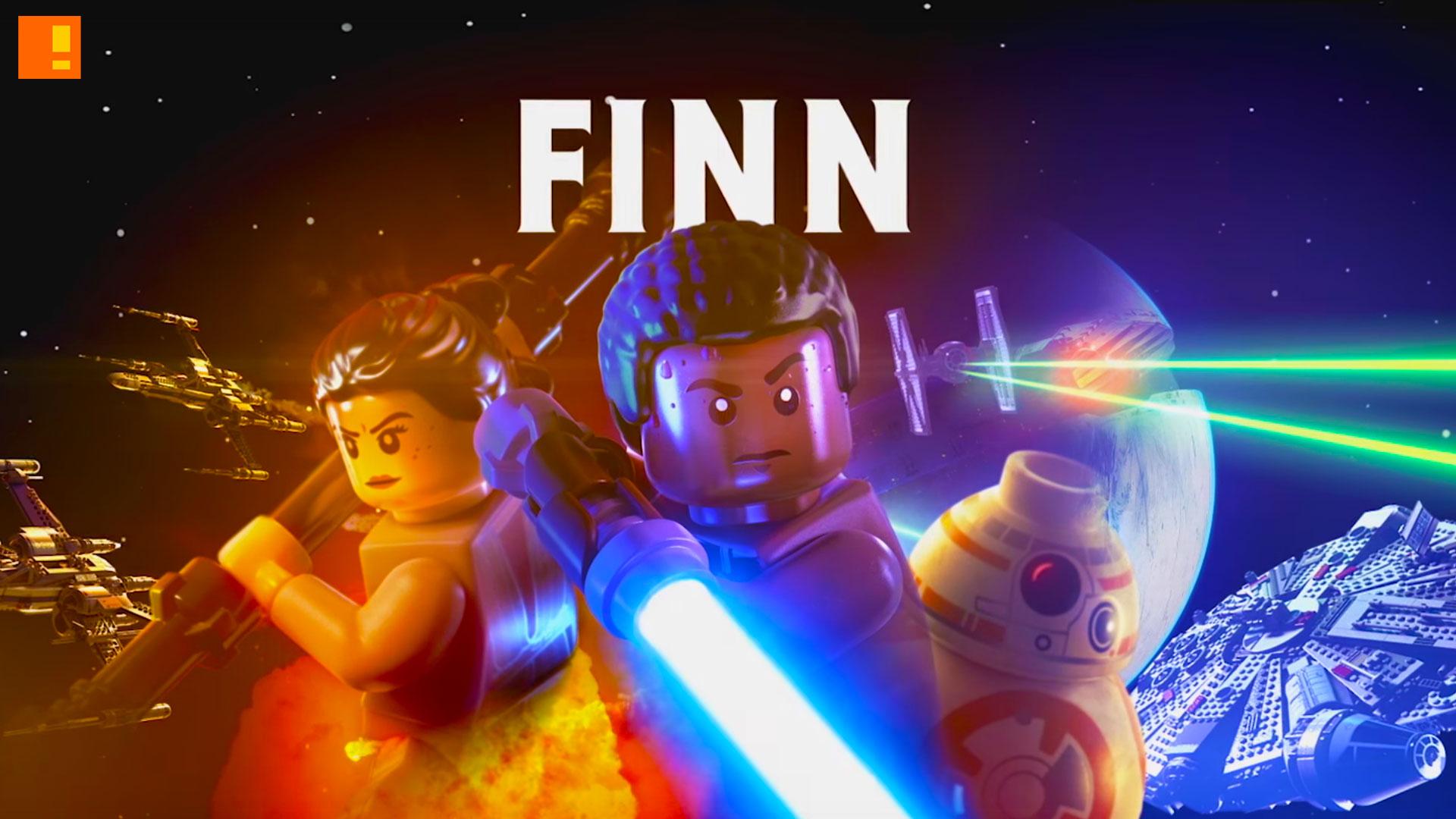 Lego Star Wars The Force Awakens Finn Character Vingette