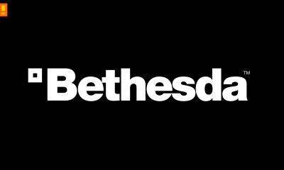 bethesda logo, the action pixel, entertainment on tap,