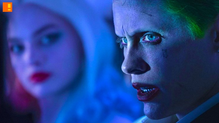 joker, suicide squad, harley quinn, the action pixel, entertainment on tap, @theactionpixel, dc comics, warner pictures, dc films, jared leto, margot robbie, harley quinn, clown prince of crime, the joker,