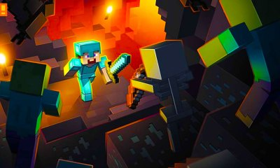 minecraft, the action pixel, entertainment on tap, warner bros. , mojang, @theactionpixel