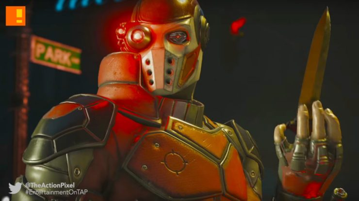 deadshot, Injustice 2, the action pixel, entertainment on tap