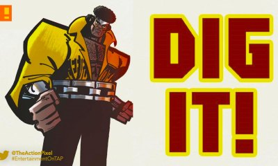 cage!, luke cage, marvel, Genndy Tartakovsky, preview, panel art, issue 1, #1, the action pixel, entertainment on tap