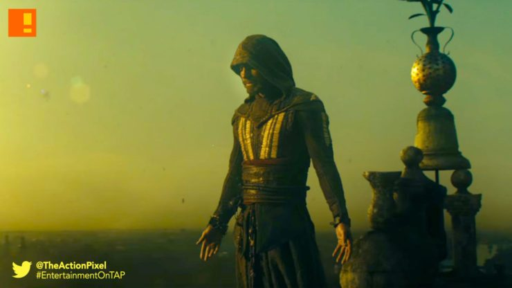 assassins creed, the action pixel, michael fassbender, assassins creed, callum lynch,michael fassbender, ac, ubisoft, preview, images,stills,exclusive, the action pixel, entertainment on tap,video game movie, stills,trailer 2