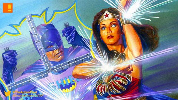 batman, wonder woman,77 batman meets wonderwoman 77, the action pixel, entertainment on tap, dc comics, diana prince, bruce wayne , alex ross