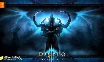 diablo 3, rise of necromancer, reveal, trailer, dlc, expansion pack, blizzcon 2016, blizzard, the action pixel, entertainment on tap