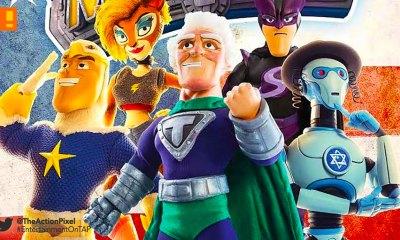 supermansion, crackle, the action pixel, entertainment on tap, titan comics, preview,