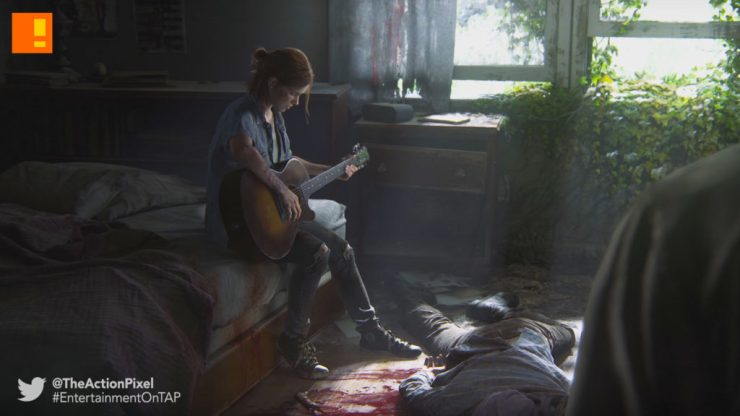 the last of us , the last of us 2, the last of us part 2, the action pixel, playstation, psx, playstation 4, ellie, joel, reveal trailer, trailer, entertainment on tap,