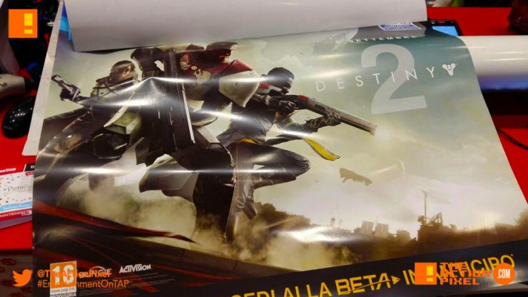 destiny 2 , Leaked poster, poster, destiny, the action pixel, entertainment on tap