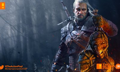 the witcher 3: wild hunt, Geralt, netflix, entertainment on tap, the action pixel, @theactionpixel, the witcher,