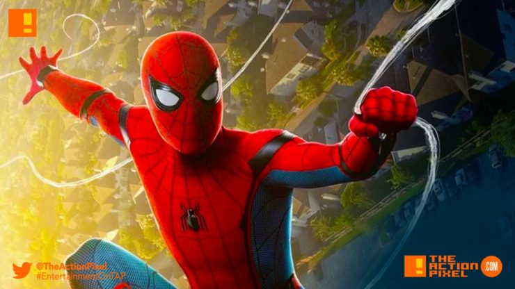 spider-man, spider-man homecoming, the action pixel, marvel,sony, sony pictures, tom holland, iron man, peter parker, vulture, tony stark, entertainment on tap, poster, iron man, imax, spiderman,poster,final