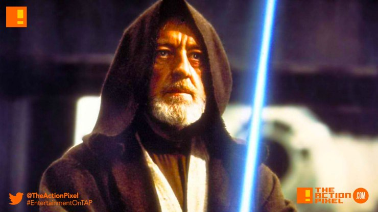 Alec Guinness , Ewan McGregor, obi-wan kenobi, lucasfilm, disney,entertainment on tap,the action pixel