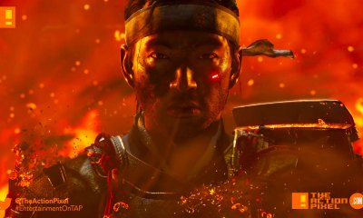 ghost of sushima, paris games week, sucker punch, announce trailer, announcement trailer, feudal japan, entertainment on tap, the action pixel,