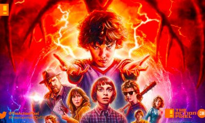 eleven, stranger things 2, netflix, the action pixel, entertainment on tap,poster, entertainment on tap