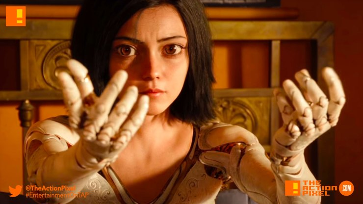 trailer, battle angel alita, manga, anime, lana condor, live action adaptation, x-men, jubilee,battle angel,alita: battle angel, james cameron, teaser ,trailer,