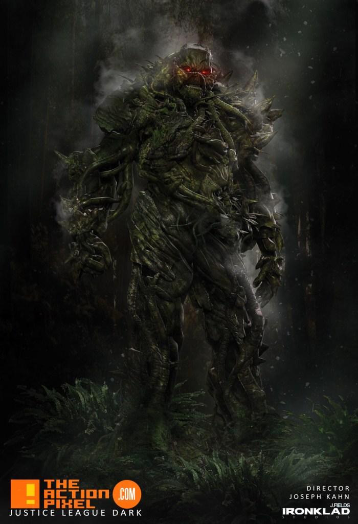 justice league dark, etrigan, deadman, the demon, john constantine, hellblazer, swamp thing ,zatanna, dc comics, the action pixel, entertainment on tap, joseph kahn, concept art,