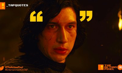 tap quotes, rey, tempt, snoke, snoak, the last jedi, star wars, star wars: the last jedi, mark hamill, luke skywalker, princess leia,carrie fisher, rey,the action pixel, entertainment on tap,kylo ren, photographs,image,poster ,awake, trailer, imax, poster,promo