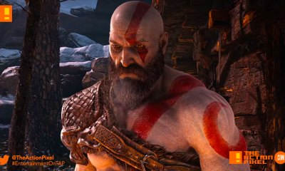 atreus, kratos, god of war, the action pixel, entertainment on tap, god of war, kratos, santa monica, the action pixel, norse, entertainment on tap,e3, e3 2017, electronic entertainment expo,pgw 2017 ,paris games week, playstation paris games week, the action pixel, gameplay,story trailer, santa monica