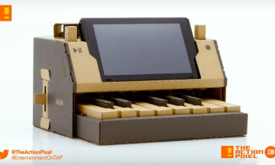 nintendo labo, first look, nintendo, the action pixel, entertainment on tap