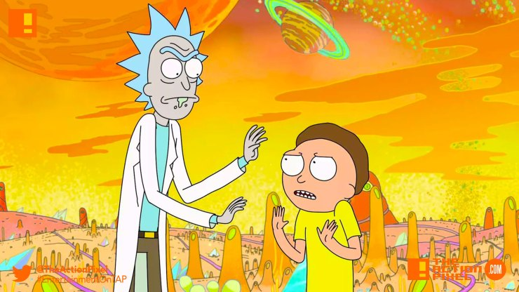 rick and morty, rick, morty, the action pixel, entertainment on tap, adult swim, cartoon network,
