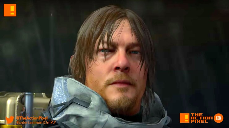 death stranding, guillermo del toro, mads mikkelsen, the action pixel, entertainment on tap, trailer, hideo kojima, the game awards,