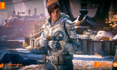 gears 5, gears of war, gears of war 5, xbox, xbox e3, e3, announce trailer,trailer, cinematic, sera, locust,the action pixel, entertainment on tap,