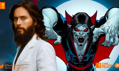 jared leto, morbius, spider-man, sony pictures, sony, marvel comics, marvel, morbius, sony, marvel, spider-man, spider man, morbius the living vampire, vampire, plasma, blood, marvel comics, marvel entertainment,the action pixel, entertainment on tap,