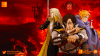 castlevania, poster, banner, netflix, moon, blood moon, vampire, dracula, alucard, the action pixel, entertainment on tap, teaser, trailer, netflix,season 2,