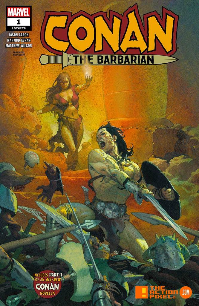 alex ross, conan, conan the barbarian, esad ribic, cover art, marvel, savage sword of conan, cover art,