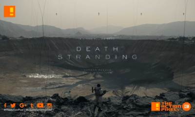 death stranding, guillermo del toro, mads mikkelsen, the action pixel, entertainment on tap, trailer, hideo kojima, the game awards, Léa Seydoux , Lindsay Wagner, E3 , E3 2018, TRAILER