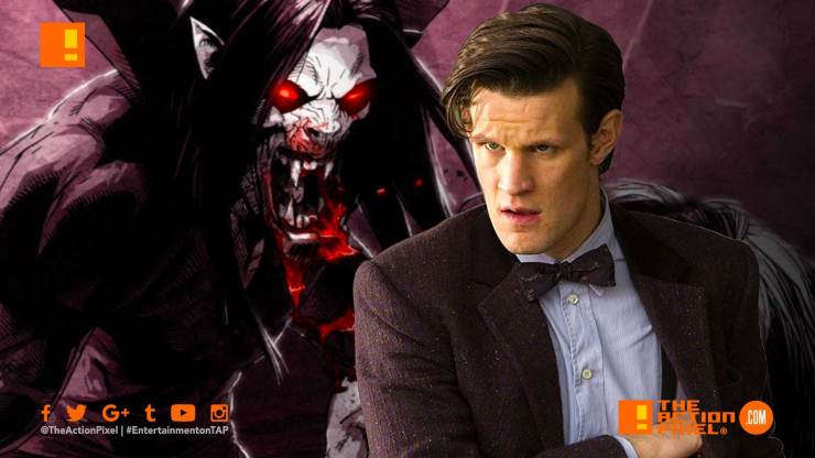 matt smith, morbius the living vampire, jared leto, sony, sony pictures, spider-man, marvel comics, doctor who, matt smith , the action pixel, entertainment on tap, featured