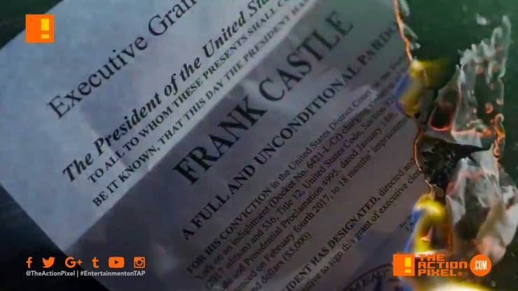 frank castle, pardon, promo, netflix, marvel, marvel comics,the action pixel, entertainment on tap, the punisher 2, punisher 2,