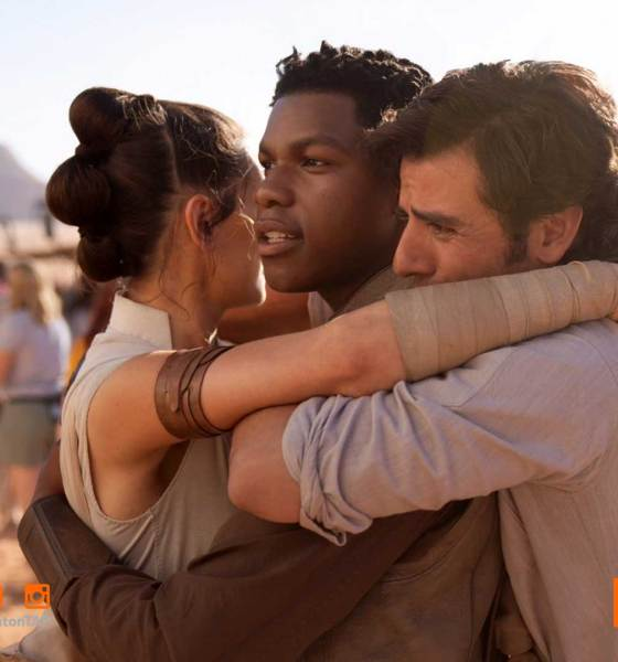 jj abrams, oscar isaac, john boyega, rey, po,daisy ridley, the action pixel, star wars, star wars ix, star wars episode ix, film wrapped, star wars primary photography, entertainment on tap