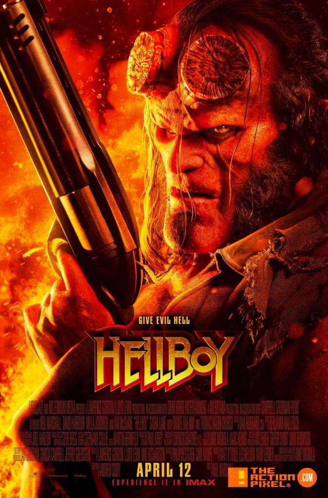 mike mignola, dark horse comics, hellboy, hellboy red band trailer, the action pixel, entertainment on tap, trailer, lionsgate movies,