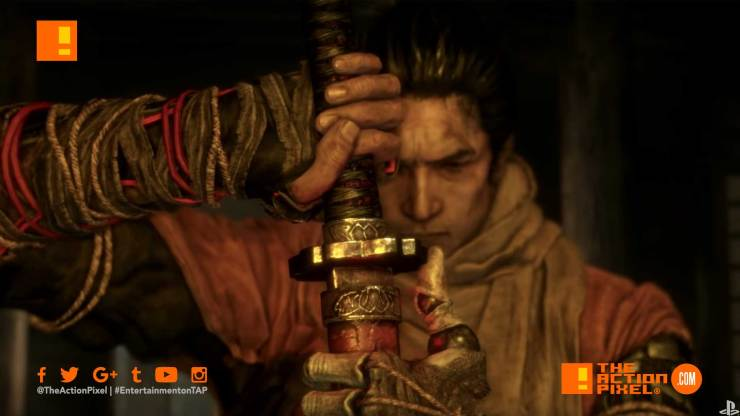 sekiro: shadows die twice, launch trailer, playstation, from software