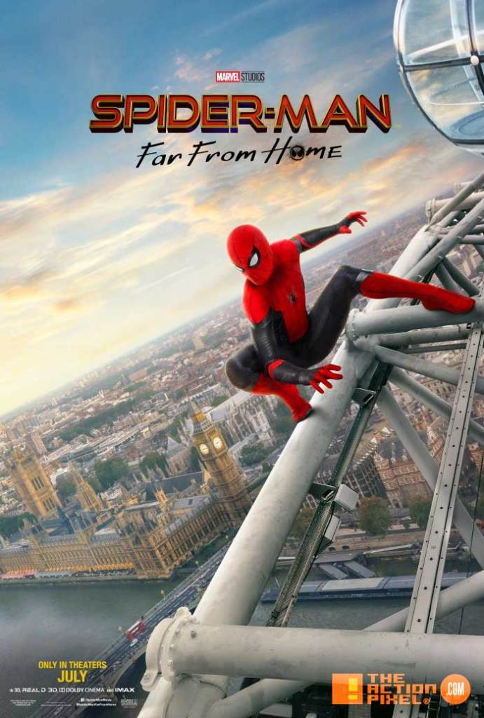 spider-man, spider-man: far from home poster, spiderman far from home, spiderman, far from home,spiderman 2 poster,peter parker, marvel, marvel studios, marvel entertainment ,sony, sony pictures, the action pixel , entertainment on tap, far from home posters, spiderman far from home release date, spiderman far from home release date uk, spiderman far from home posters,