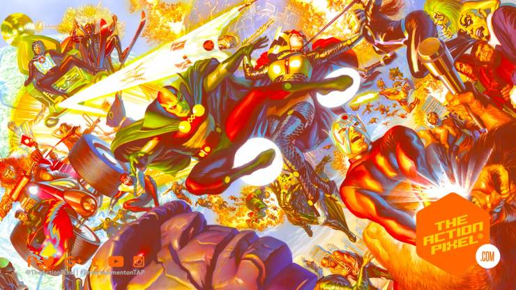 ava duvernay, tom king, the new gods, new gods , the action pixel, entertainment on tap, mister miracle, batman, featured,dc comics, warner bros. pictures, wb pictures,alex ross