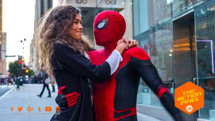 spiderman, zendaya, spider-man,spiderman far from home, spider-man: far from home, peter parker, mysterio, trailer, spider-man movie 2,