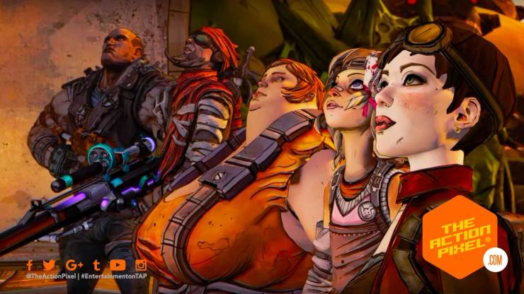 borderlands 2, borderlands 2: commander lilith and the fight for sanctuary, borderlands 3, entertainment on tap, the action pixel