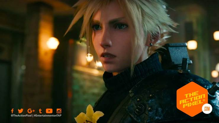 cloud, sephiroth, ffvii, remake, final fantasy, final fantasy 7, final fantasy vii, cloud, krado, sephiroth, square enix,teaser trailer ,e3 2019, square enix, final fantasy vii remake,