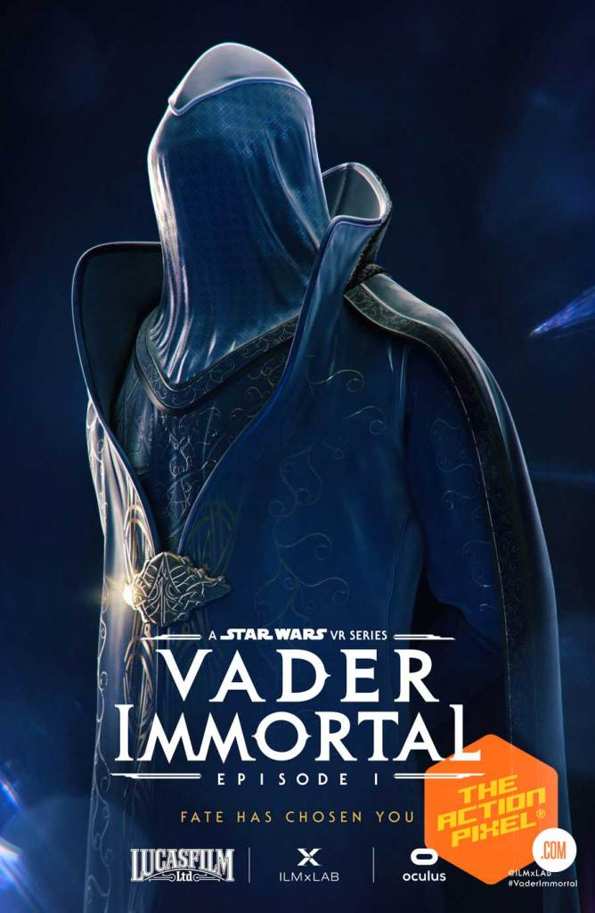 Admiral Karius, vader immortal, mustafarian priestess, zo-e3, the black bishop, vylip, darth vader, vr, oculus, ilmxLAB, vader immortal, vader immortal episode 1,sdcc 2019, sdcc , comic con 2019, star wars, star wars game, star wars vr game,featured, the action pixel, style on tap,poster art, sdcc poster,star wars vader immortal, star wars vader immortal posters, vader immortal posters, vader immortal character posters