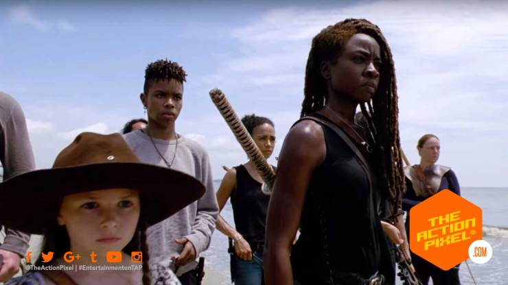 michonne, TWD Season 10, the walking dead, the walking dead season 10, the walking dead season 10 comic-con trailer, the action pixel, amc, skyvbound, entertainment on tap