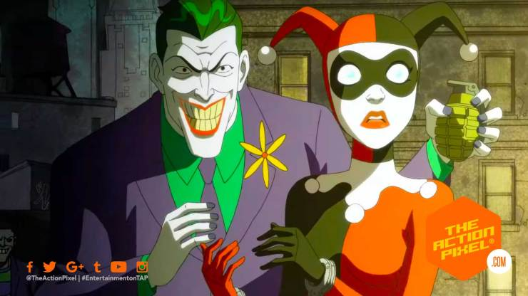 harley quinn, the action pixel, dc universe, dc comics ,dc entertainment, the action pixel, entertainment on tap, featured, joker,