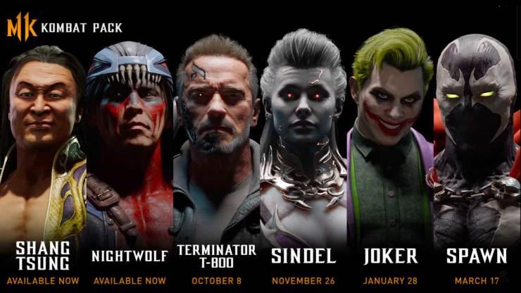 terminator , the terminator, joker, the joker , dc comics, mortal kombat, mortal kombat 11, mk, trailer, mortal kombat 11 kombat pack characters,entertainment on tap, featured