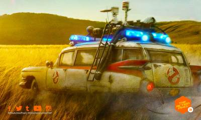 ghostbusters, ghostbusters afterlife, ghostbusters afterlife poster, the action pixel, featured, ecto-1,