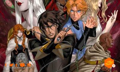 castlevania, poster, banner, netflix, moon, blood moon, vampire, dracula, alucard, the action pixel, entertainment on tap, netflix,season 3, release date,castlevania season 3, castlevania season 3 release date, castlevania 3, konami,featured