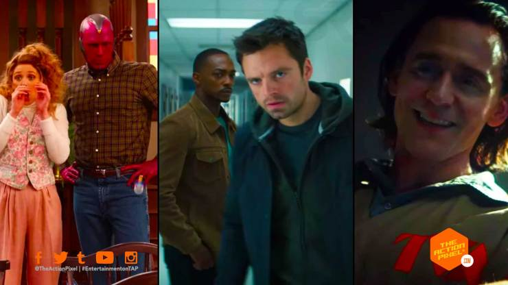 The Falcon and the winter soldier, loki, wandavision, marvel studios, marvel, disney+ ,disney+ big game spot, entertainment on tap, big game spot 2020, the action pixel, featured, entertainment on tap,