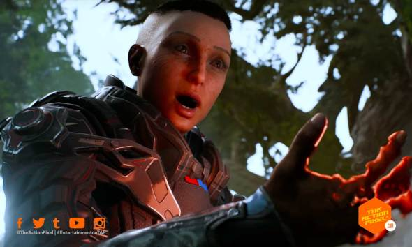 outriders, square enix, the action pixel, entertainment on tap, reveal trailer, outriders reveal trailer ,featured,