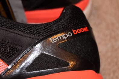 Adidas Tempo Boost 7 heel close