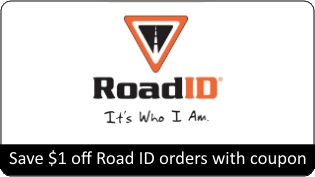 Save $1 off Road ID Orders